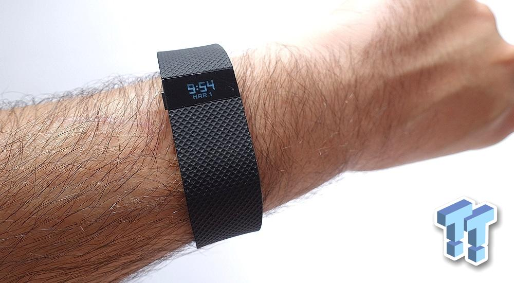 Fitbit Charge Hr Fitness Wireless