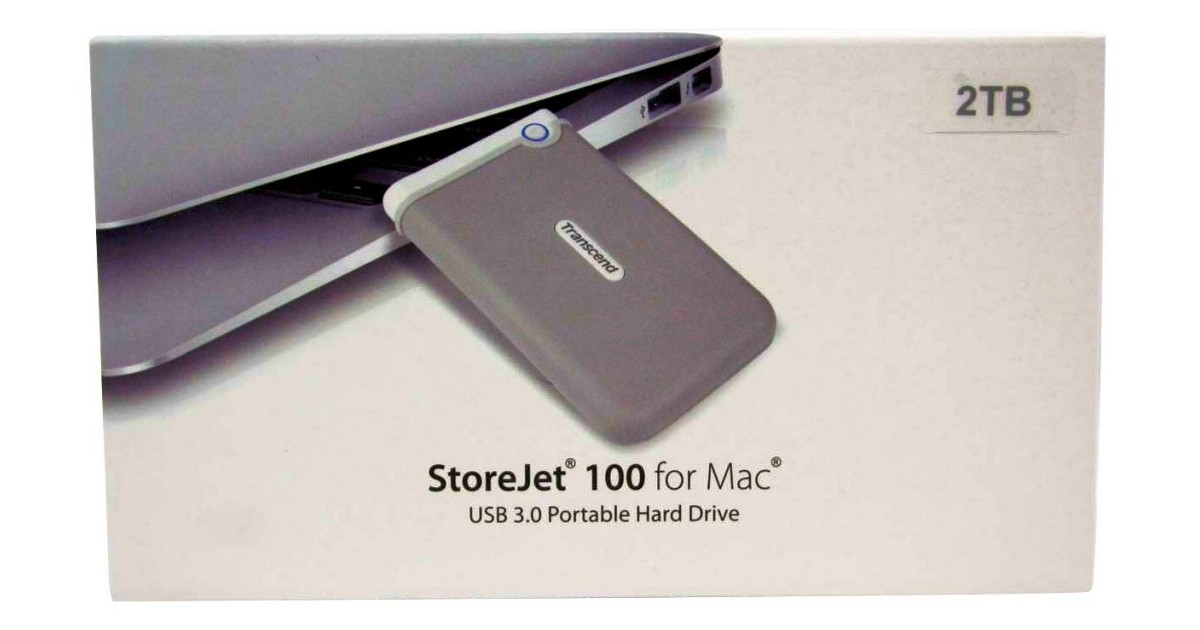 Transcend StoreJet 100 2TB USB 3 0 External HDD for Mac Review