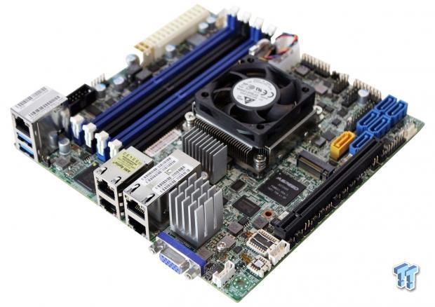 Supermicro X10SDV-TLN4F (Intel Xeon D) Server Motherboard Review