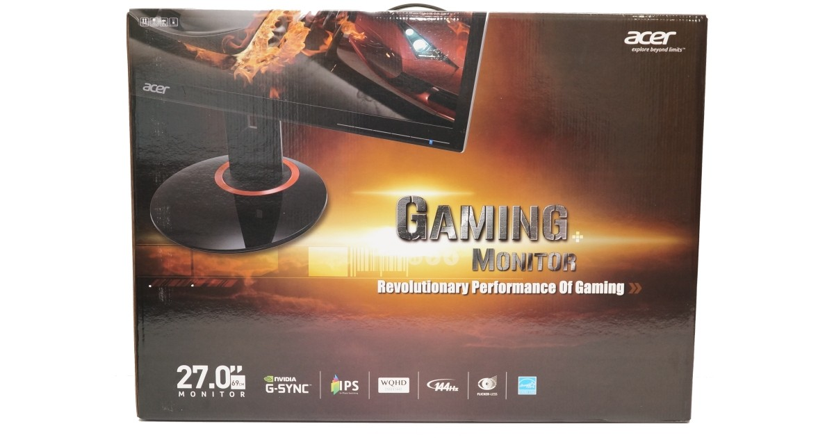 Acer XB270HU 27-inch 144Hz IPS G-Sync Gaming Monitor Review