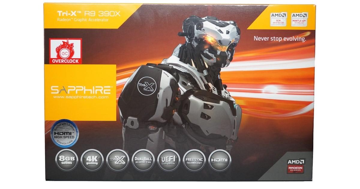 SAPPHIRE Tri-X Radeon R9 390X 8GB Video Card Review