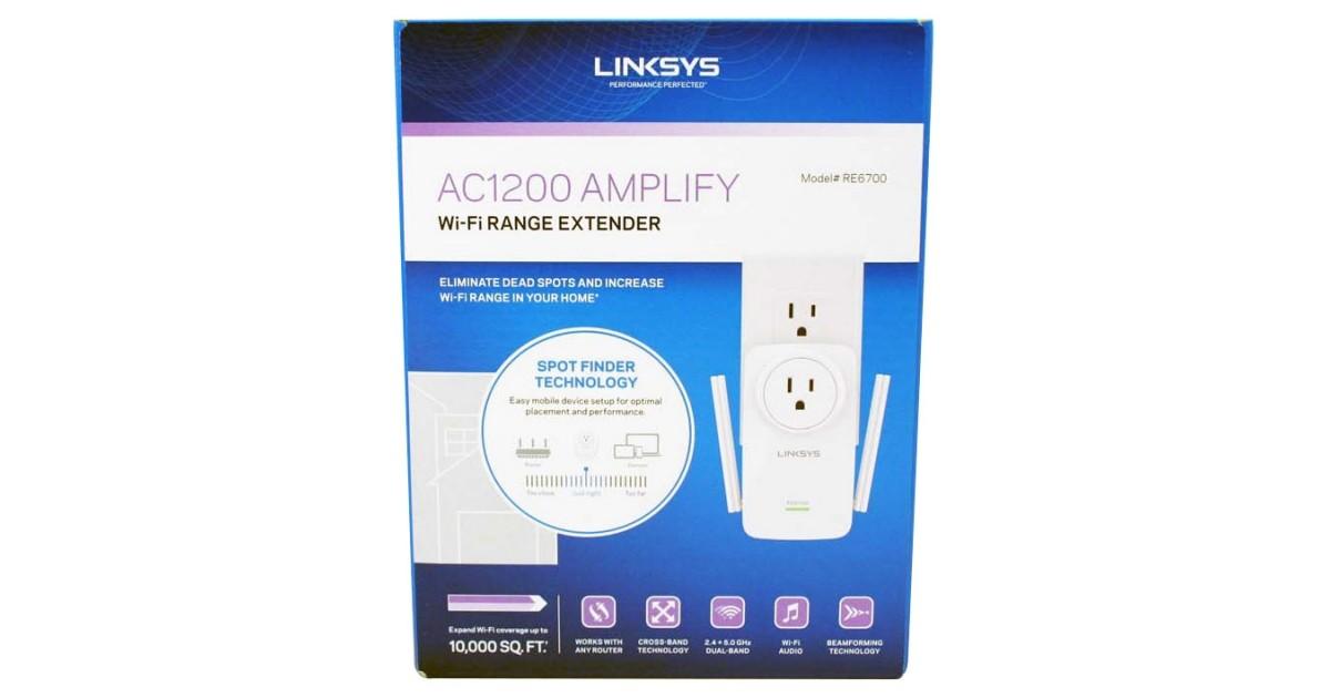 Linksys AC1200 Amplify RE6700 Wi-Fi Range Extender Review