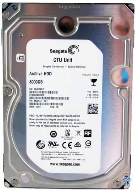 Seagate Archive 8TB ST8000AS002 HDD Review