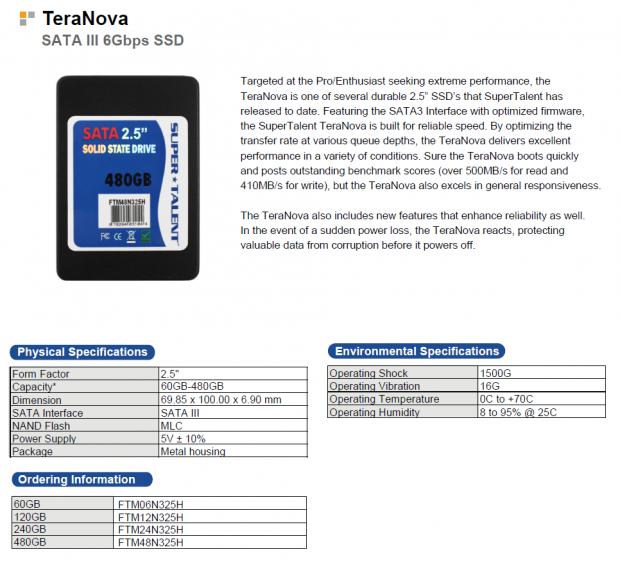 Super Talent SSD 120GB 2.5 inch SATA3 Solid State Drive TLC