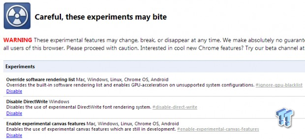Google Chrome Performance Tweak Guide - Make the Browser