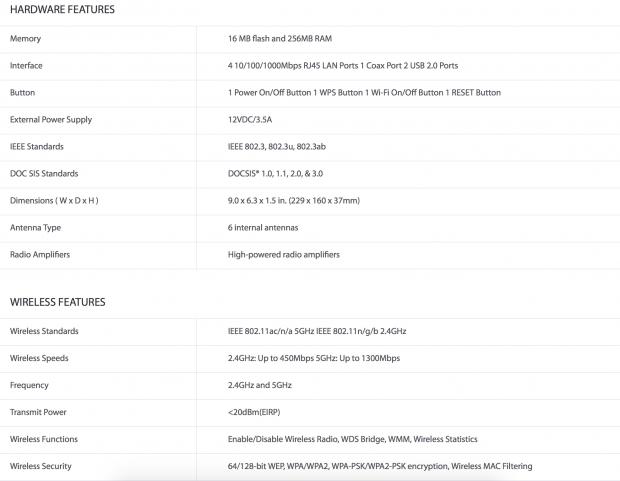 TP-LINK Archer CR700 DOCSIS 3 0 Cable Modem Router Review