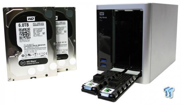 WD My Book Pro 12TB Thunderbolt 2 RAID Storage Unit Review