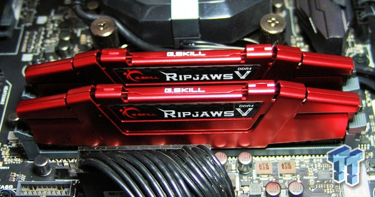 G Skill Ripjaws V Ddr4 3000 16gb Dual Channel Memory Kit
