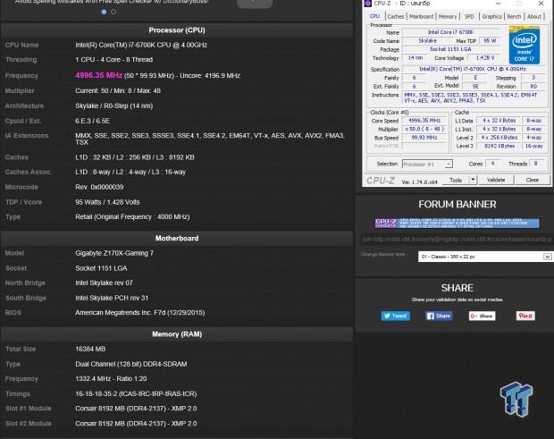 GIGABYTE Z170X-GAMING 7 (Intel Z170) Motherboard Review