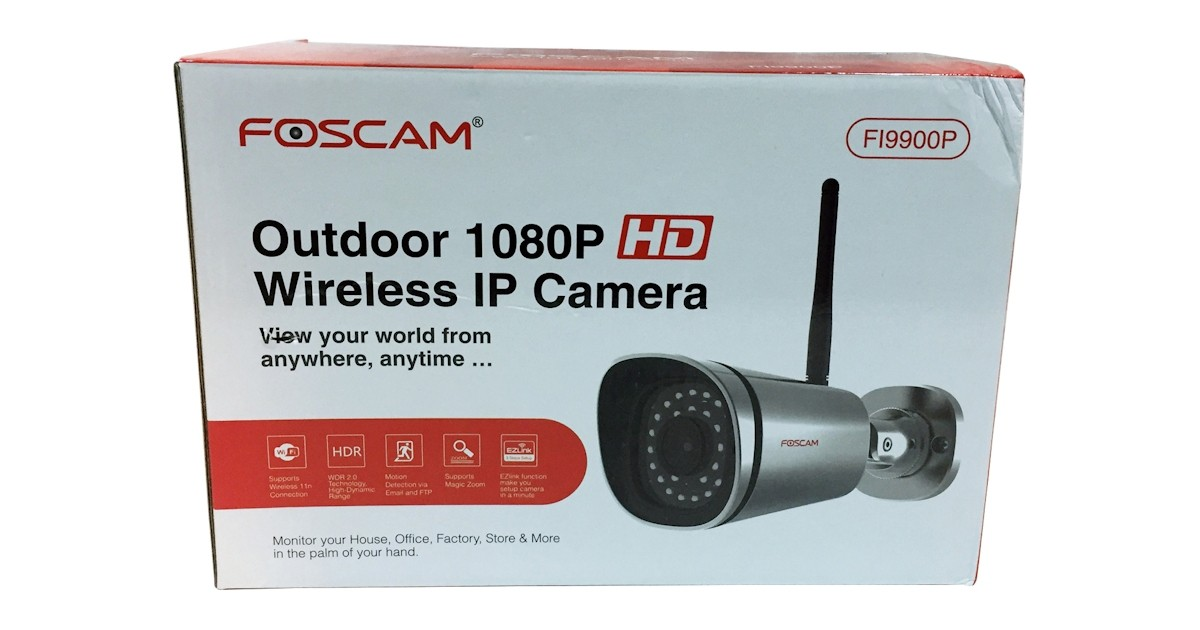 Foscam FI9900P Outdoor 1080p HD Wireless IP Bullet Camera Review