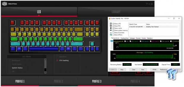 Cooler Master MasterKeys Pro L / S Mechanical Gaming