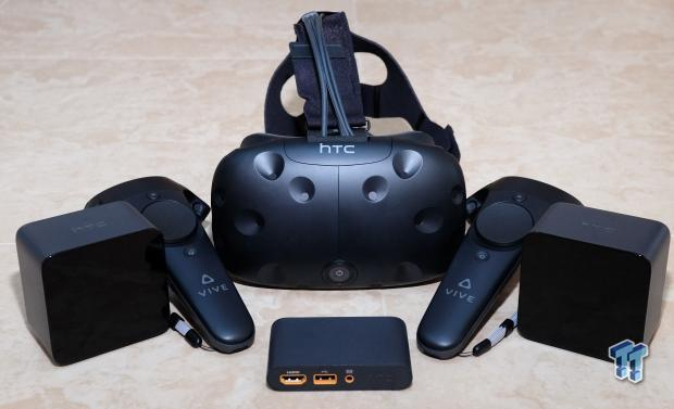 First Impressions of HTC's Vive Virtual Reality Headset