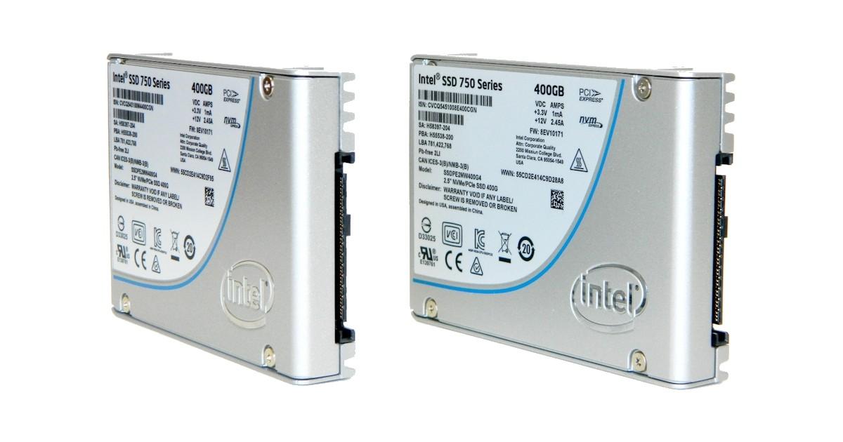 Intel 750 NVMe 400GB U.2 SSD Bootable RAID 0 Report