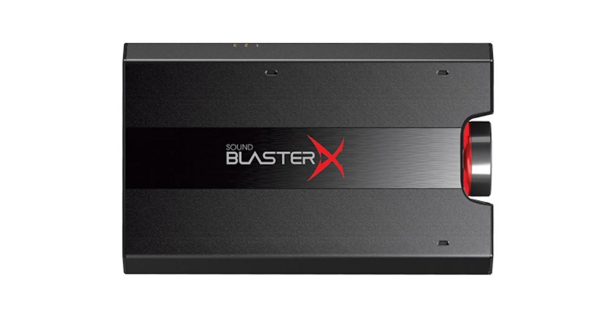 Creative Sound BlasterX G5 External USB 7 1 Sound Card Review