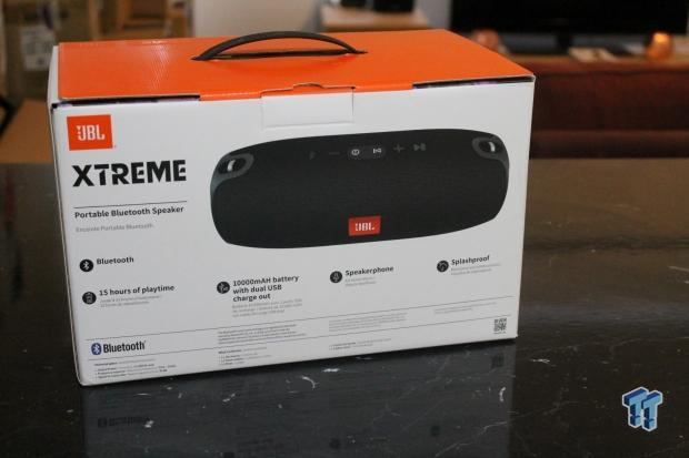 JBL Xtreme Portable Bluetooth Speaker Review