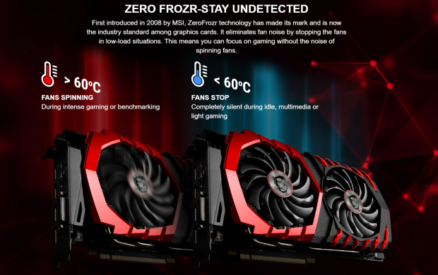 MSI GeForce GTX 1070 Gaming X 8G - Silent Gaming + Major OC