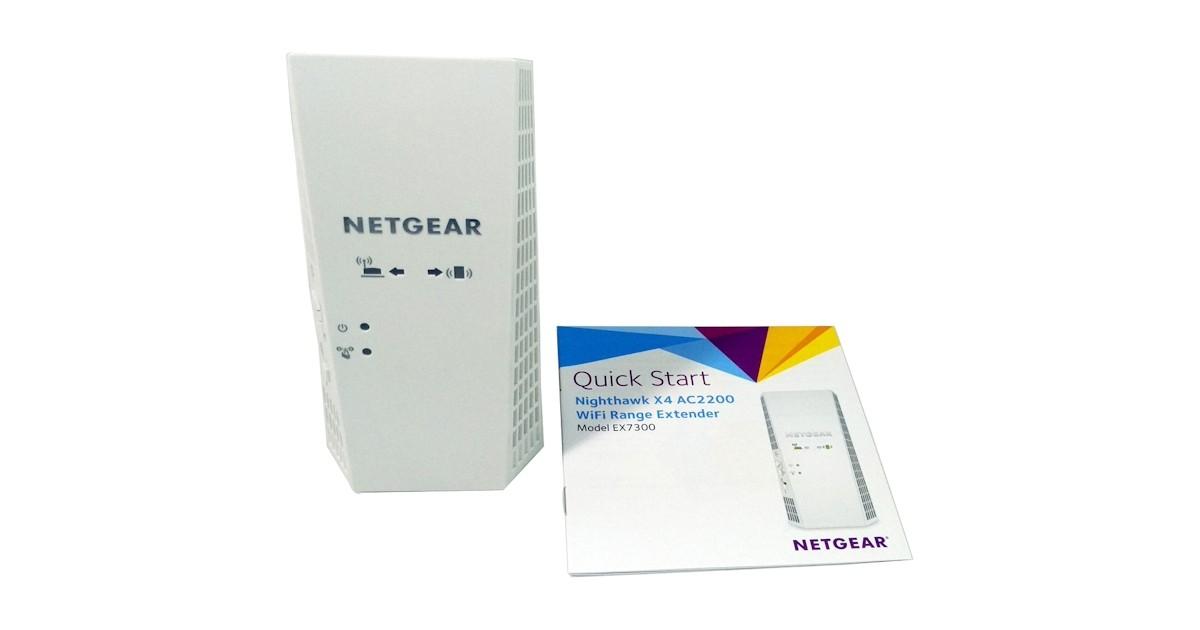 Netgear Nighthawk X4 EX7300 AC2200 Wireless Range Extender