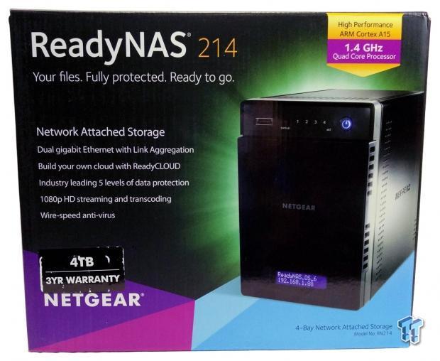 Netgear ReadyNAS 214 Four-Bay Consumer NAS Review