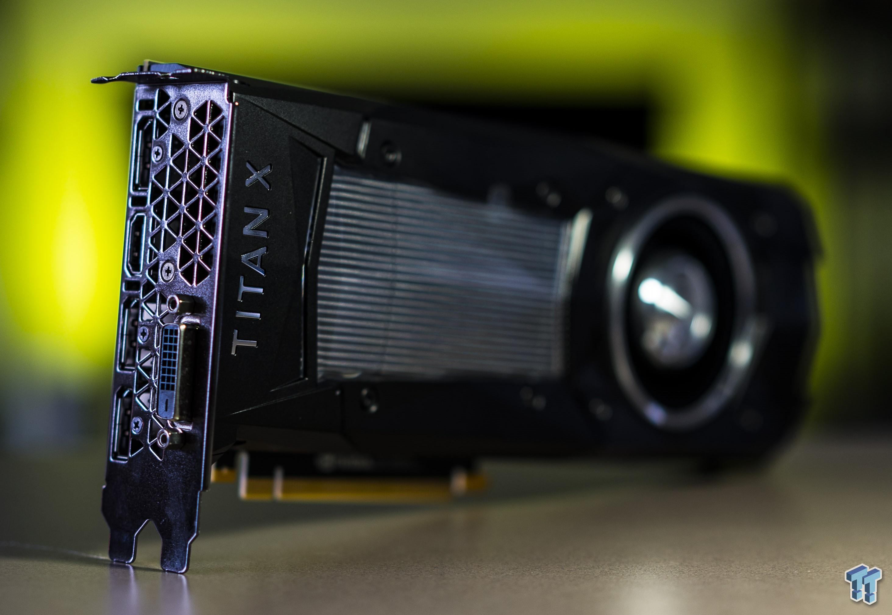 NVIDIA Titan X Review - Monster Performance: 4K 60FPS On A
