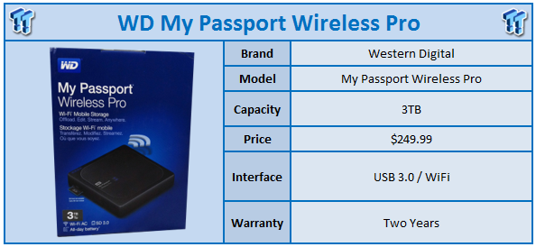WD My Passport Wireless Pro 3TB Portable HDD Review
