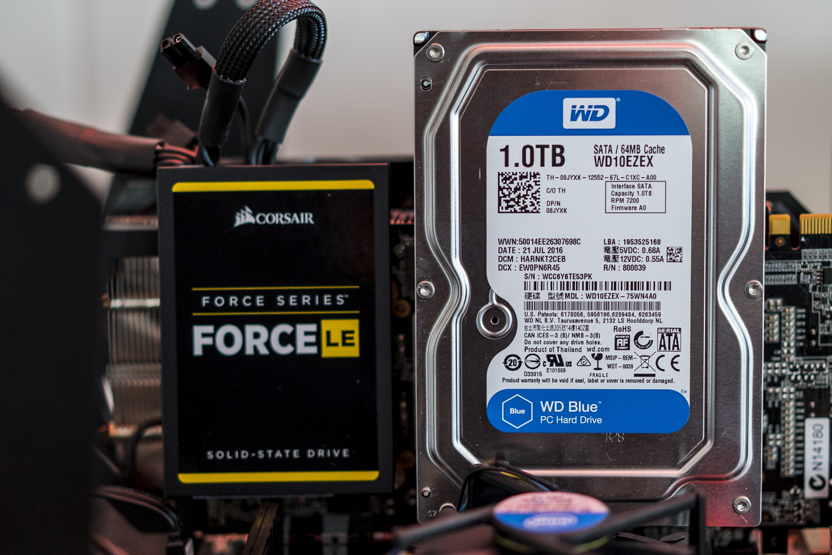 Upgrade Test: GTX 760 vs  GTX 1060 on SSD vs  HDD system
