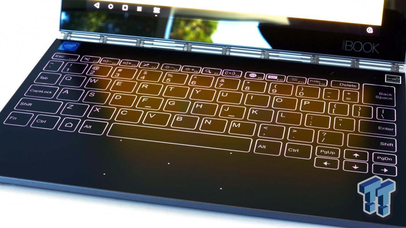 Lenovo Yoga Book Android 2 In 1 Tablet Review Tweaktown