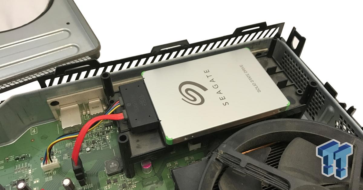 Quick Guide Upgrading Xbox One Internal Storage