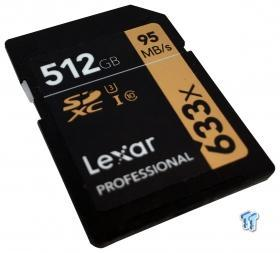 Lexar Professional 512GB SDXC UHS-I Memory Card Review