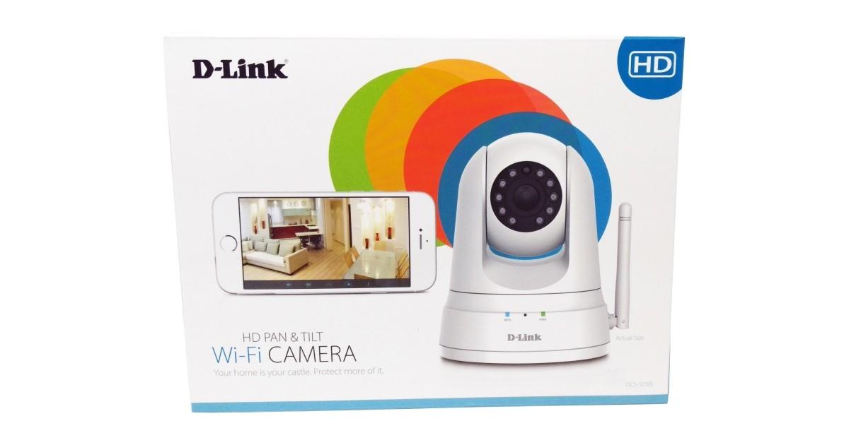 D-Link DCS-5030L PTZ Wi-Fi Camera Review