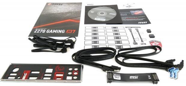 MSI Z270 Gaming M7 Motherboard Review