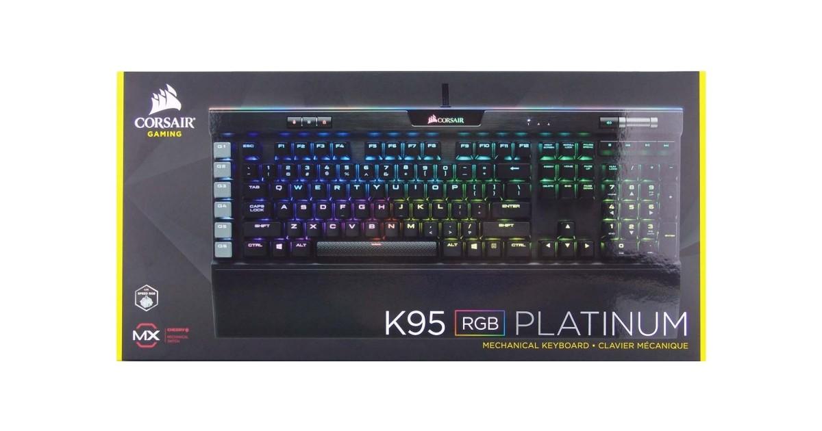 Corsair K95 RGB Platinum Mechanical Keyboard Review