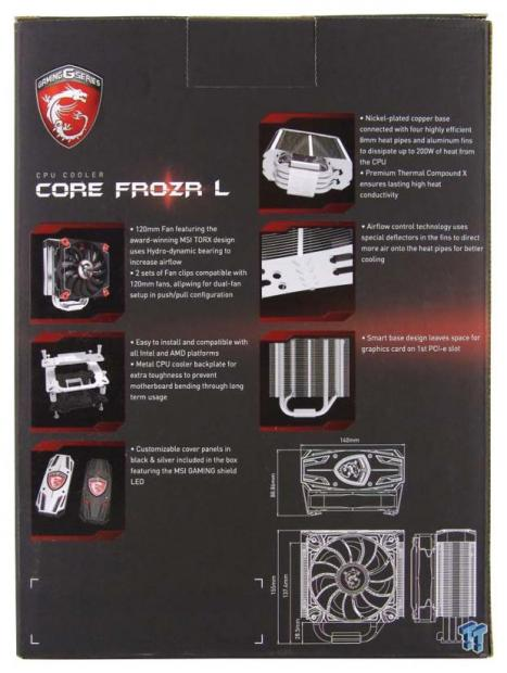 Msi Core Frozr L Cpu Cooler Review