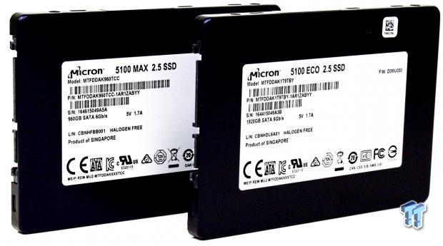 Micron 5100 Series ECO & MAX SATA Enterprise SSD Review
