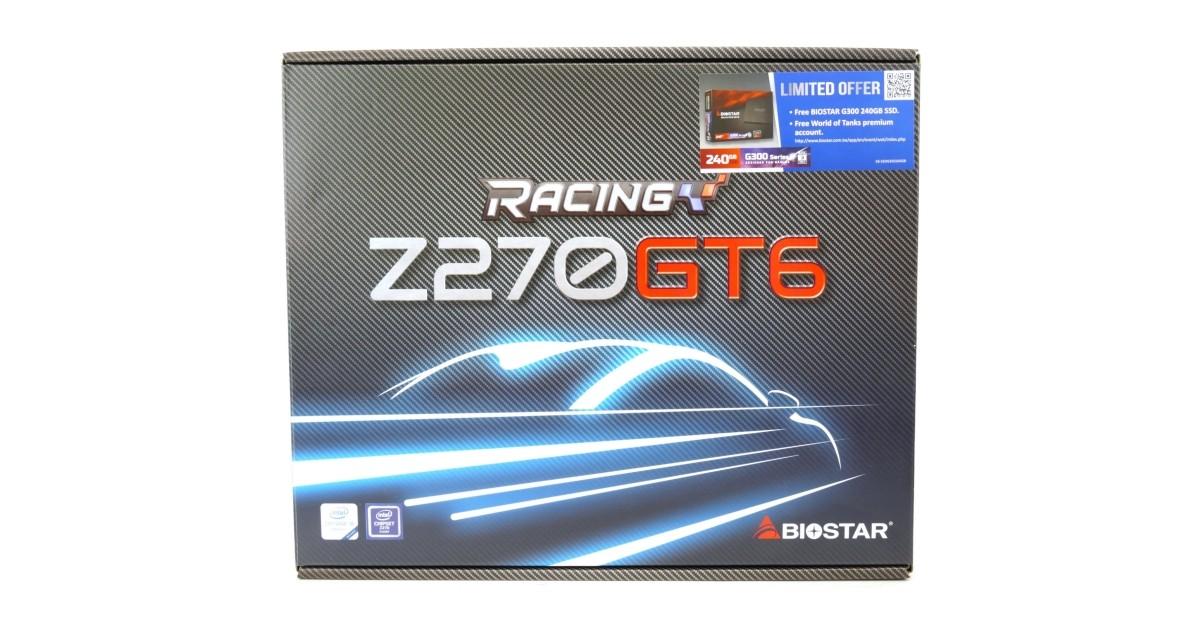 BIOSTAR Z270GT6 Motherboard Review