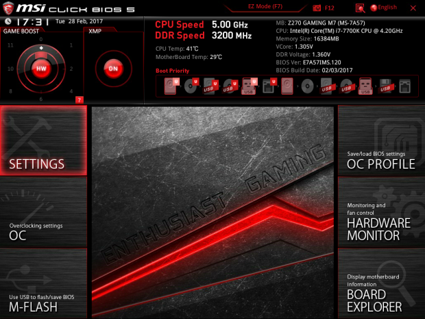 msi click bios 5 integrated graphics