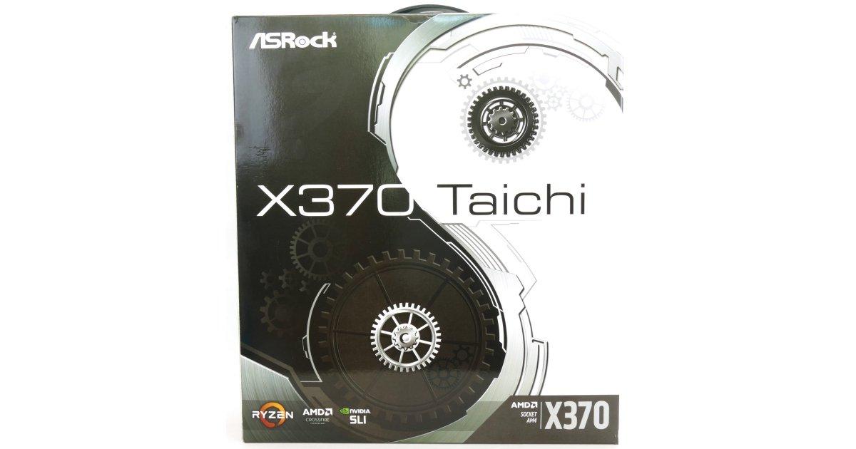 ASRock X370 Taichi (AMD X370) Motherboard Review