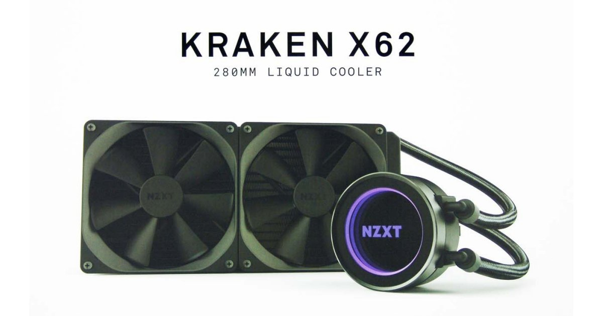 Nzxt Kraken X62 Liquid Cpu Cooler Review