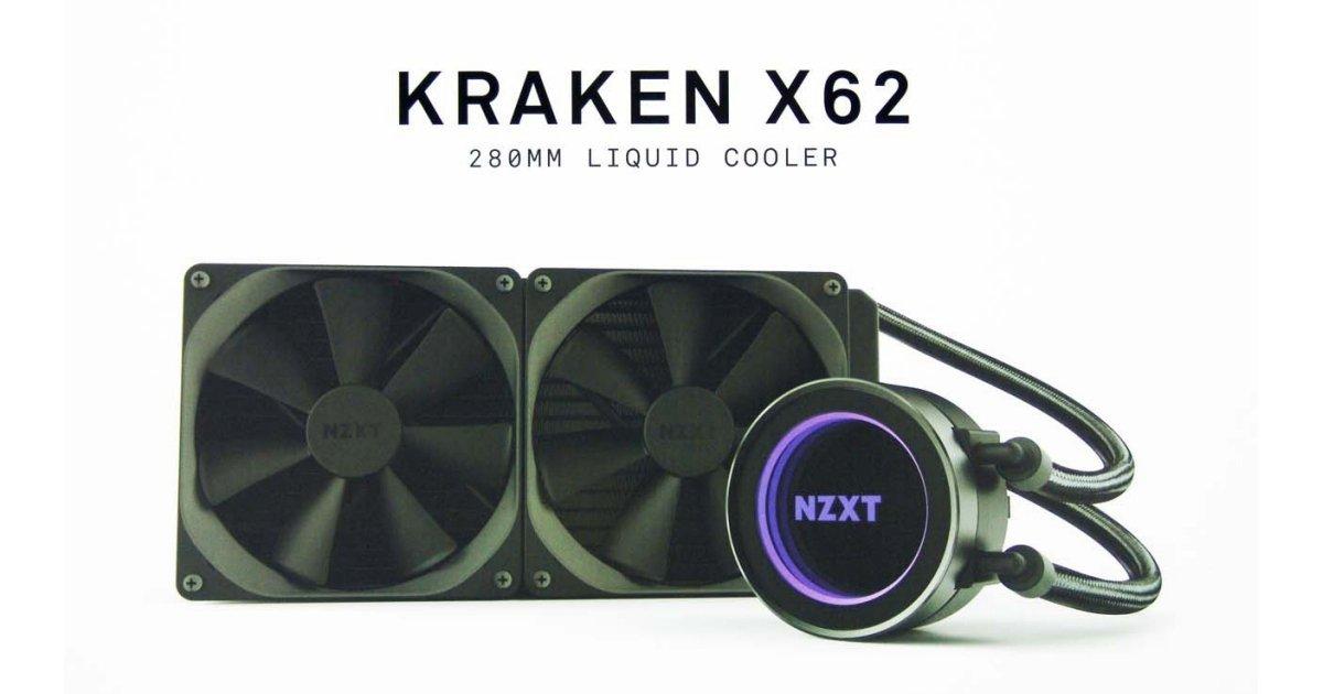 nzxt kraken x62 liquid cpu cooler review