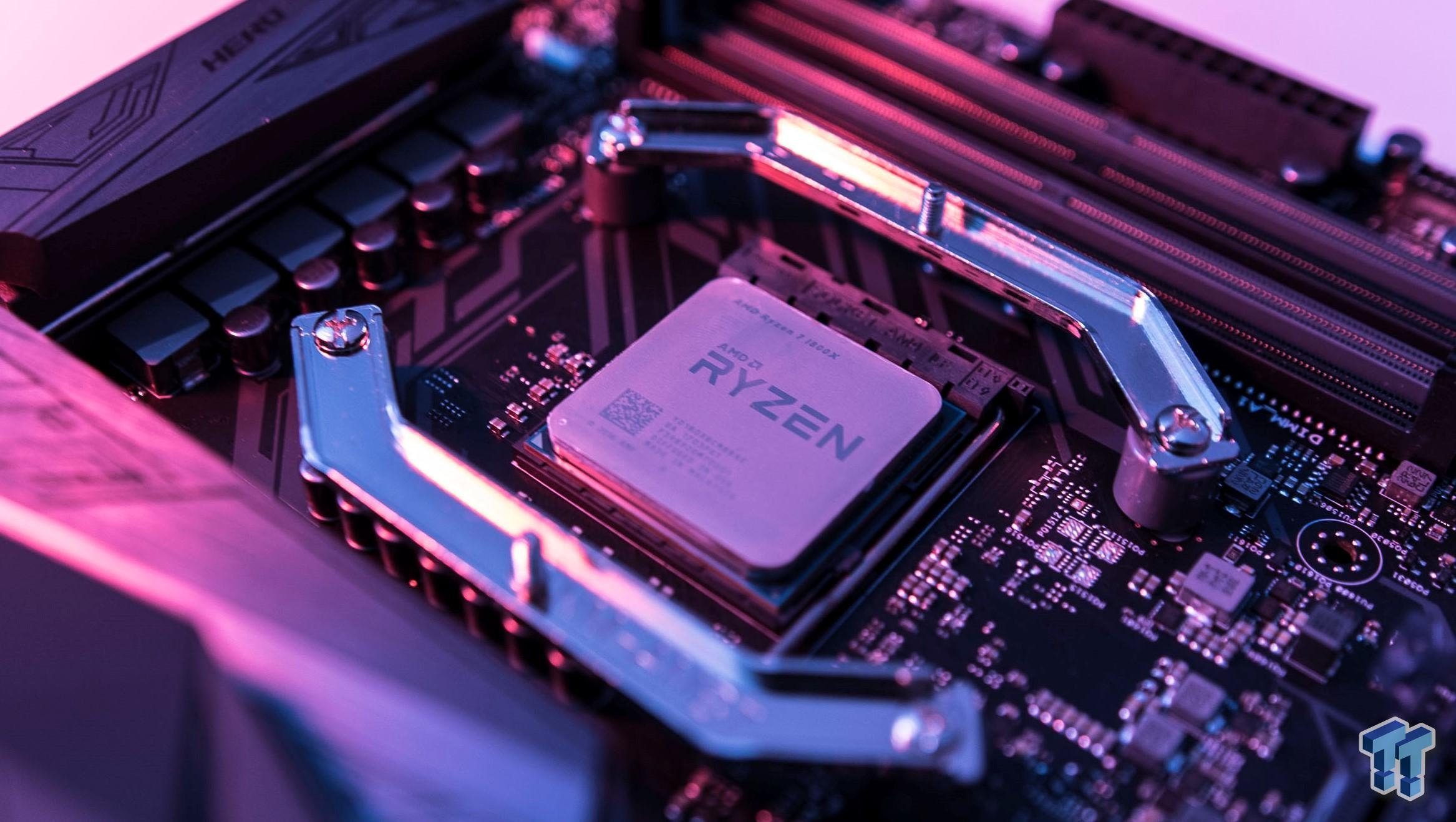 GTX 980 Ti SLI vs  GTX 1080 Ti SLI on AMD Ryzen 7 1800X