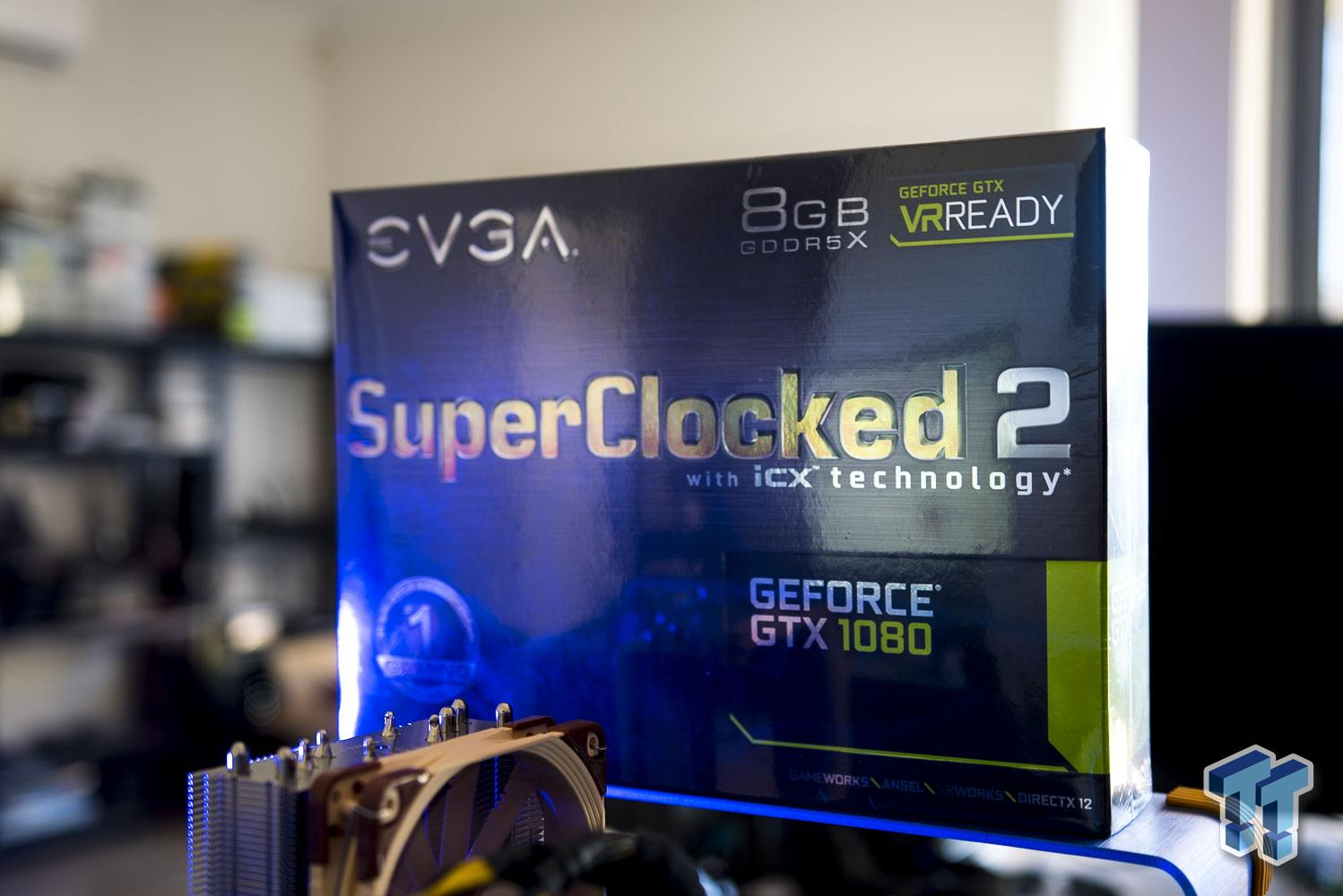 EVGA GeForce GTX 1080 SuperClocked 2 (with iCX) Review