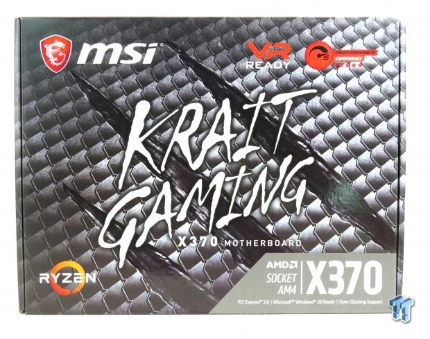 MSI X370 Krait Gaming Motherboard Review