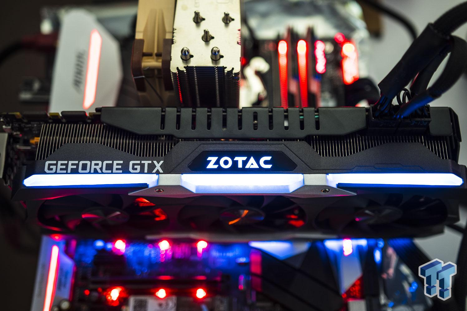 ZOTAC GeForce GTX 1080 Ti AMP! Extreme Edition Review
