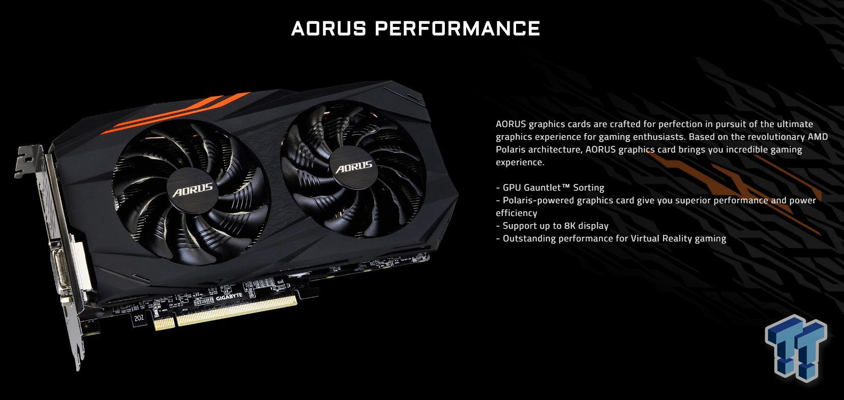 AORUS RX 570 4GB Graphics Card Review - Mid Range Champ?