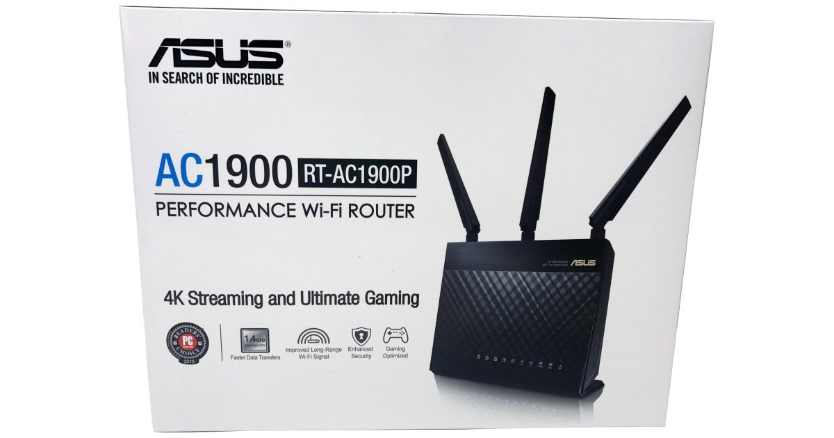 ASUS RT-AC1900p Wireless Router Review