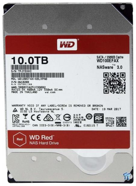 Wd Red 10tb Nas Hdd Review Tweaktown