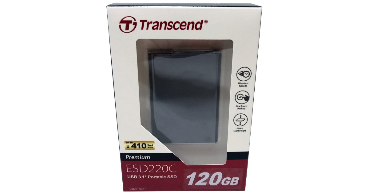 Transcend ESD220C 120GB Portable SSD Review