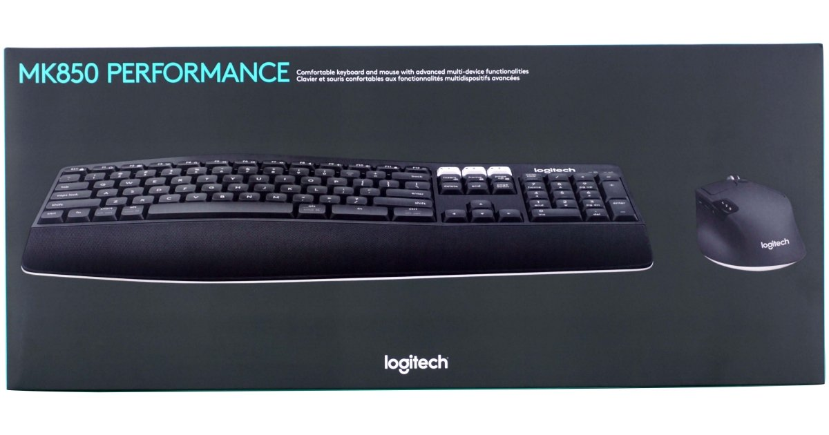 Logitech MK850 Performance Mouse & Keyboard Combo Review