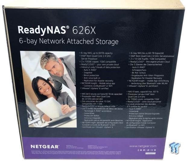 NETGEAR ReadyNAS 626X 10Gbe NAS Review