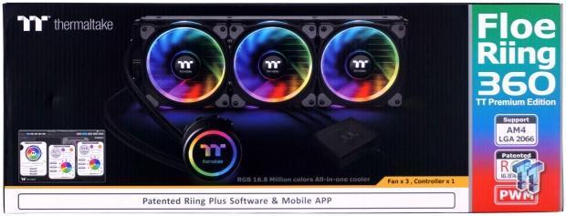 Thermaltake Floe Riing 360 TT Premium CPU Cooler Review