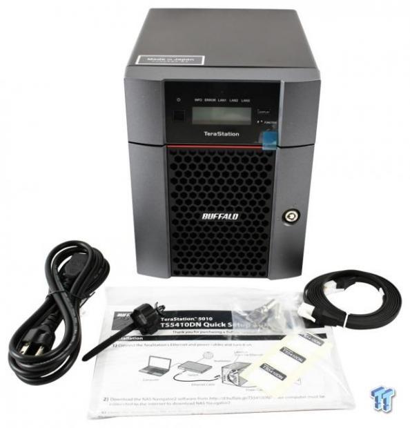 Buffalo TeraStation TS5410 8TB 10Gbe NAS Review